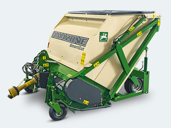 Amazone Flail collector mower & scarifier